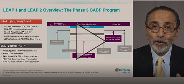 Watch: XENLETA Pivotal Clinical Trials Overview